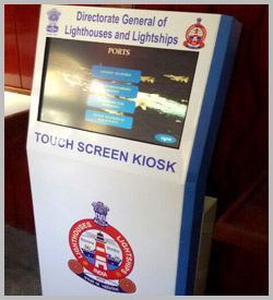 multi touch kiosk in chennai